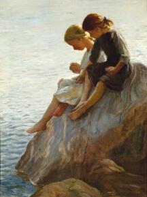 Adam Emory Albright Painting