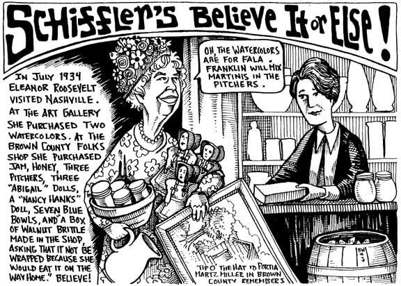April 2003 Schiffler's Believe it or Else!