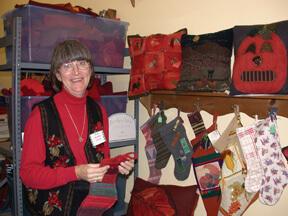 Barb Brooke Davis, Vintage Textile Artist