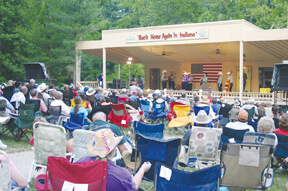 Bluegrass and Blues at Bean Blossom