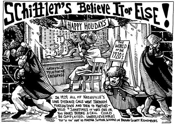 December 2003 Schiffler's Believe it or Else!