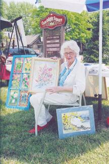 Doris Embry, artist