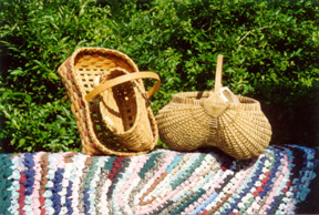 Joan Birdsong handmade baskets and rugs