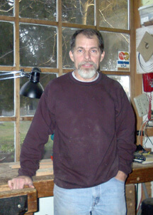 Joe Henderson, woodworker