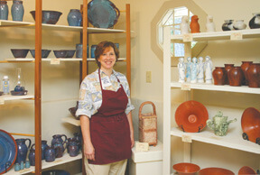 Judy Prichard, potter
