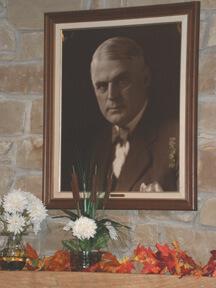 Kin Hubbard's portrait