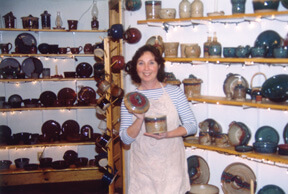 Linda Morris and Fox Run Pottery