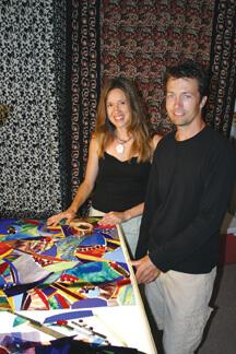 Michael and Jennifer Burt