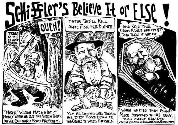 November 2003 Schiffler's Believe it or Else!