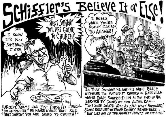 October 2003 Schiffler's Believe it or Else!