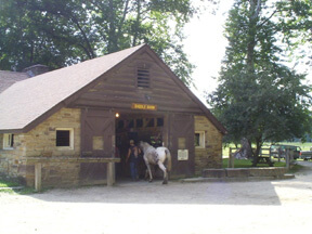State Park Saddle Barn