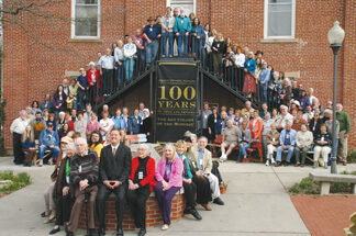 2007 Centennial photo of Brown County artists with Eric Koch