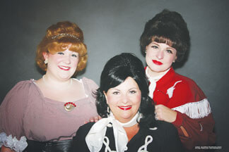 Andrea Swift-Hanlon, Judy Turnbow, and Julie Powers