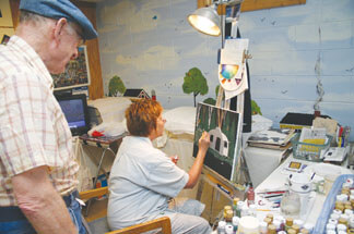 Back Roads of Brown County Studio Tour 1