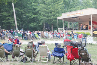 Bill Monroe Bean Blossom Bluegrass Festival