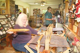 Bob and Chris Gustin Weaving a Life Together