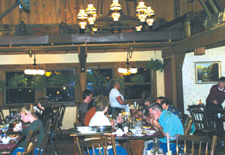 Brown County Inn's Harvest Dining Room
