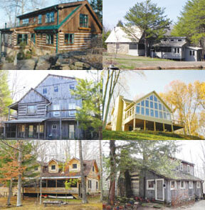 Brown County Log Cabin and Country Home Tour