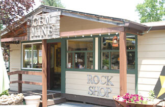 Brown County Rock & Fossil Shop 1