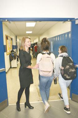 Brown County Schools' superintendent, Dr. Laura Hammack
