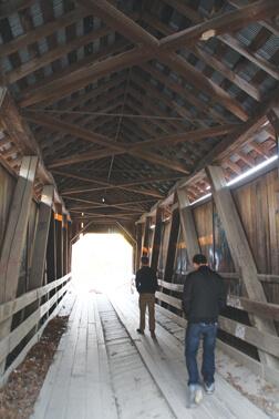 Brown County State Park bridge 2