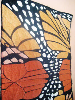 Butterfly paper quilt