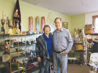 Cheri Clevenger, owner of Brown County Antique Mall