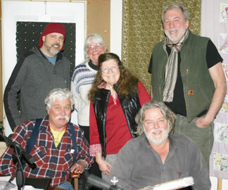 Chuck Wills, Pam Raider, Vera Grubbs, Jim Eagleman, Dave Seastrom, Rick Fettig
