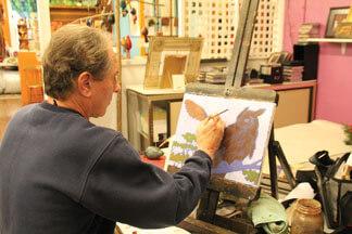 Dick Ferrer, artist