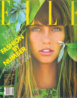 Elle cover by Gilles Bensimon