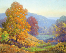 """""""Evening in the Hills"""", by Dale Bessire"""