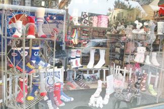 For Bare Feet, Too's window on Nashville's Main Street