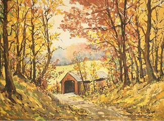 Harold Hancock painting