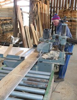 Helmsburg Sawmill