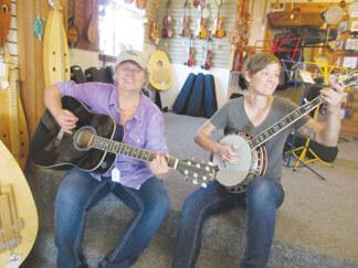 Kara Barnard and Kristin Thompson