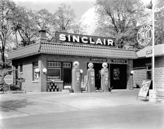 Keith Taggart's Sinclair service station