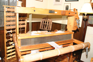 L.O. Griffith's printing press