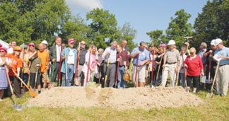 Maple Leaf Performing Arts Center groundbreaking