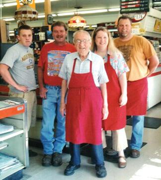 Matthew, Mike, Jack, Diana, Jim McDonald 2009