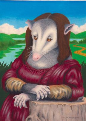 Nancy Noël painting