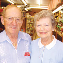 Pete and Pat Hughes