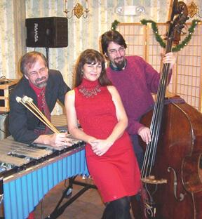 Robert Stright, Sarah Flint, and Ron Kadish of Sarah's Swing Set