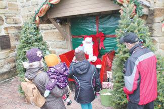Santa Visits