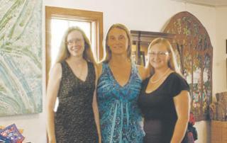 Sharon, Jessica, and Heather