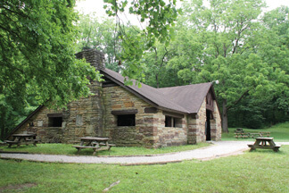 State Park Lower Shelter