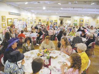 The Brown County Art Gallery Victorian Tea