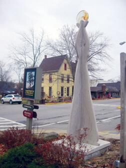 Willam Galloway's Village Sculpture