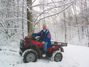 Winter at Valley Branch