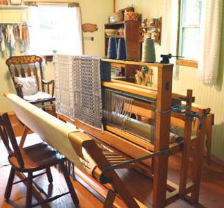 threading the loom